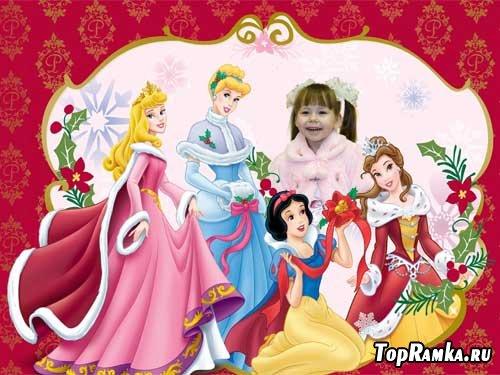 Рамка для фото Моя любимая принцесса