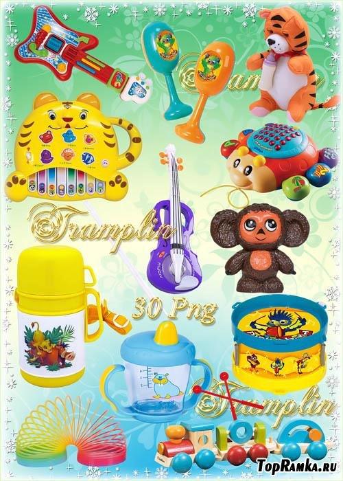 Клипарт в Png на прозрачном фоне – Все для детей – Игрушки, погремушки и другое