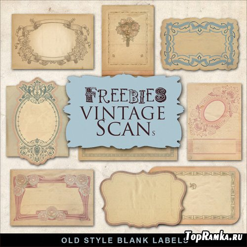 Scrap-kit - Old Style Labels