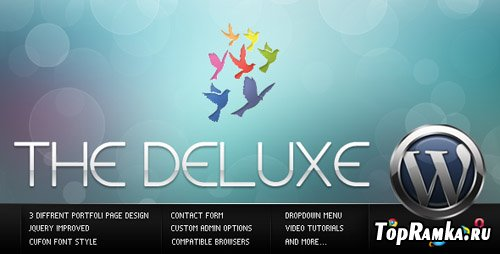 ThemeForest - The Deluxe v1.1 - Business WordPress Theme (Reuploaded)