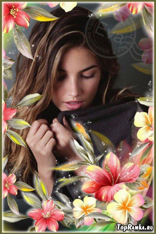 Рамочка для photoshop - Самые красивые цветы