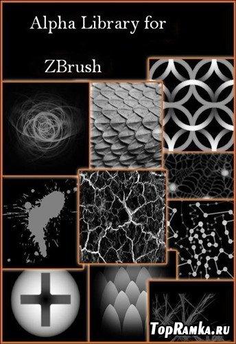 Коллекция альфа кистей для ZBrush (Pixologic)