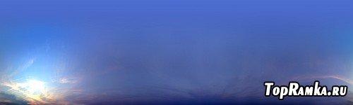 Панорамные снимки, небо, природа, города