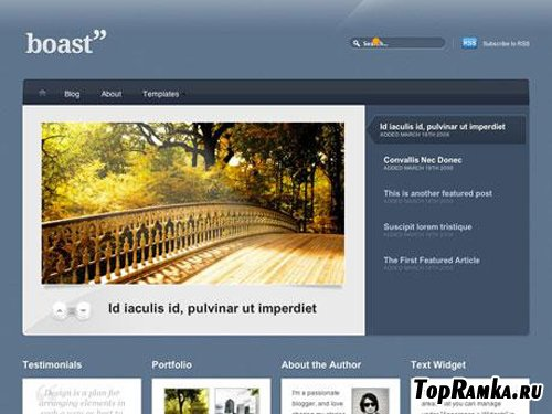 WooTheme - Boast v1.1.4 for WordPress