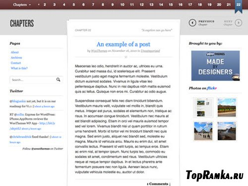 WooTheme - Chapters v1.0.7 For Wordpess