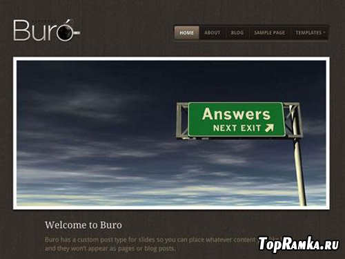 WooThemes - Buro v1.1.13 for WordPress