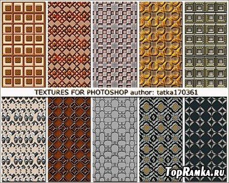 Текстуры для фотошопа с выпуклым рисунком