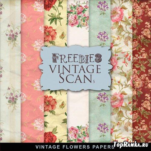 Textures - Old Vintage Backgrounds #100