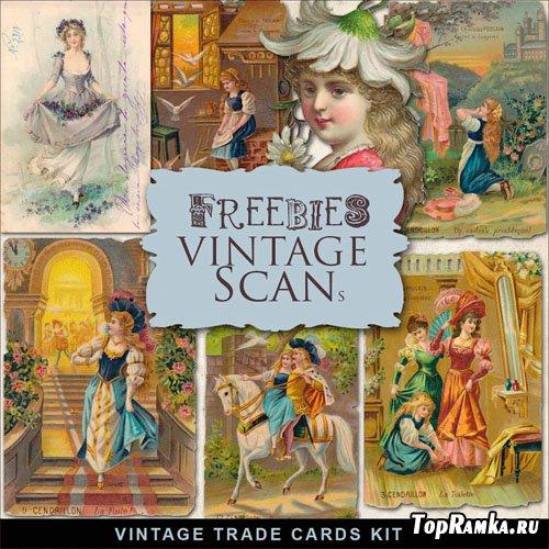 Skrap-Kit Vintage Trade Cards