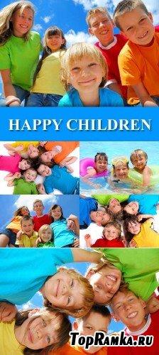 Радостные дети клипарт
