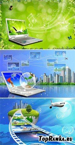 Безграничные возможности интернета (многослойные PSD)