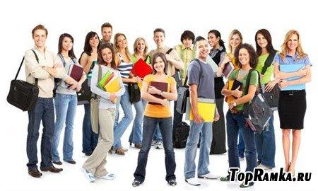 Разнообразные фотографии читающих студентов