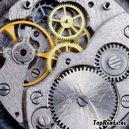 Часовой механизм в замечательных фотографиях