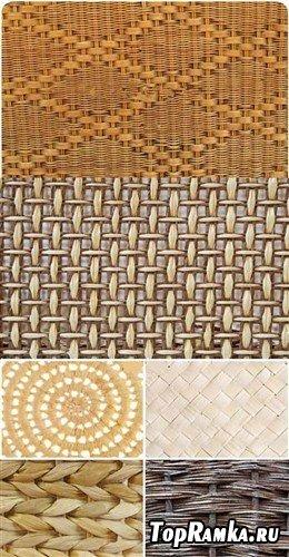 Набор плетеных фонов