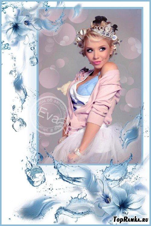 Рамка для photoshop - Лед