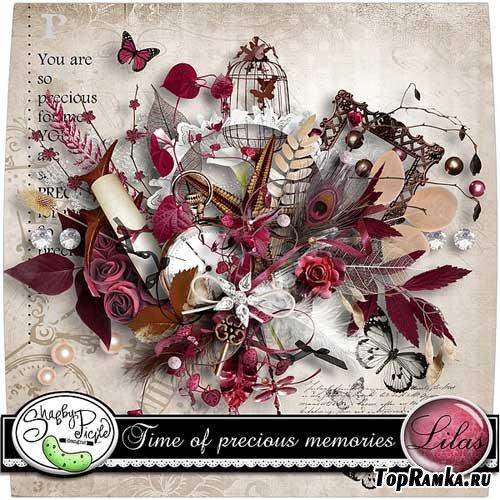 Скрап-набор - Время счастливых воспоминаний