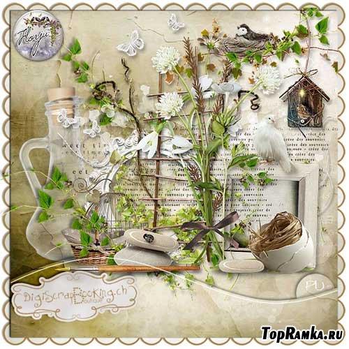 Весенний скрап-набор - Аромат весны