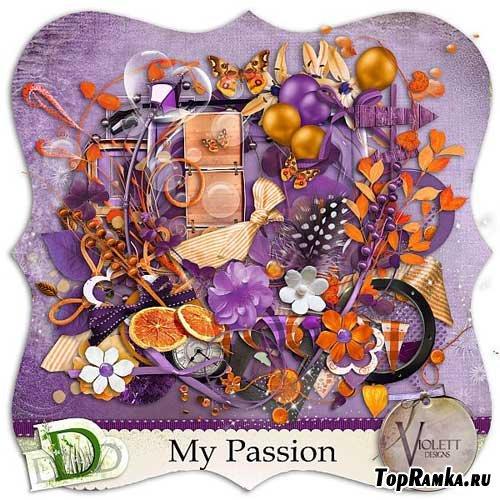Скрап-набор - Моя страсть