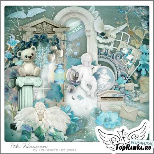 Романтический скрап-набор - Седьмое небо