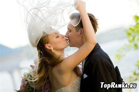 Прелестные свадебные растровые клипарты