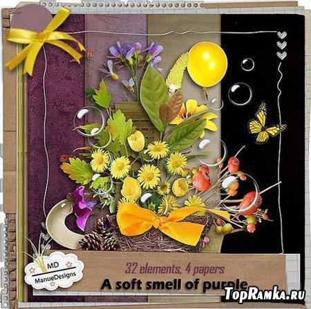 Весенний скрап-набор - Мягкий запах