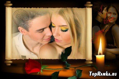 Рамочка для photoshop - И снова о любви