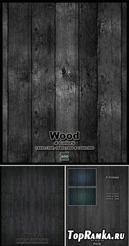 Коллекция текстур деревянной вагонки