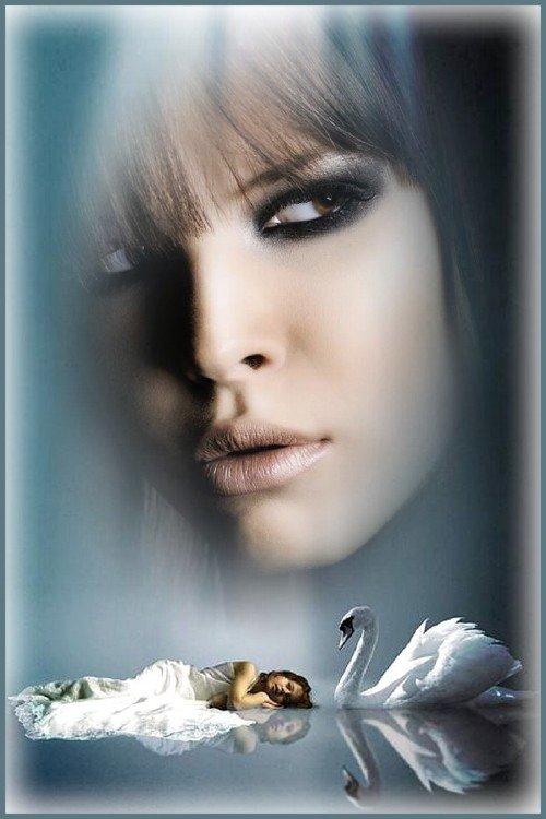 Рамка для photoshop - Моё отражение