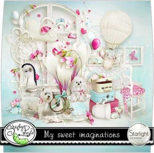 Детский скрап-набор - Мои сладкие воображения