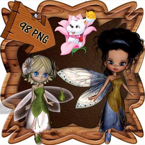 Скрап-набор - Мир фей и волшебства 18