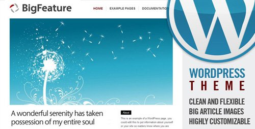 ThemeForest - BigFeature v1.4.2.3 for Wordpress 3.x