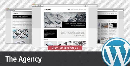 ThemeForest - The Agency 1.2.2 - WordPress Theme