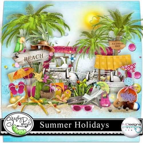 Летний скрап-набор - Летние праздники