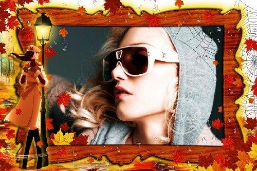 Рамочка для фотографий - Осенняя погода