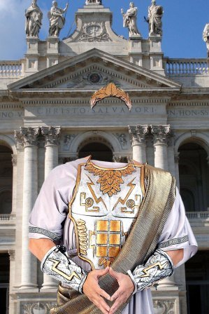 Шаблон для фотошоп – Цезарь