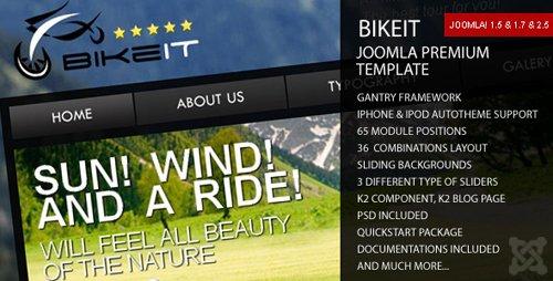 ThemeForest - BikeIT - Premium Joomla Template