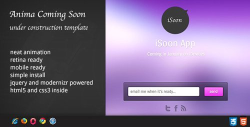 ThemeForest - Anima - Coming Soon Template