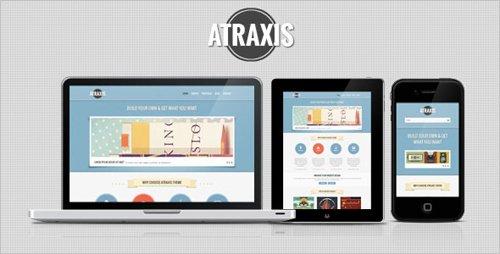 ThemeForest - Atraxis - Creative Portfolio HTML Template