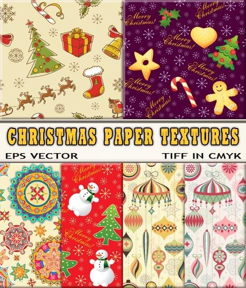 Красочные бесшовные бумаги рождественской для упаковки (eps & TIFF)