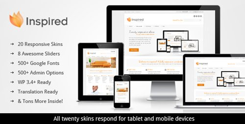 ThemeForest - Inspired v1.3 - Responsive Business WordPress Theme