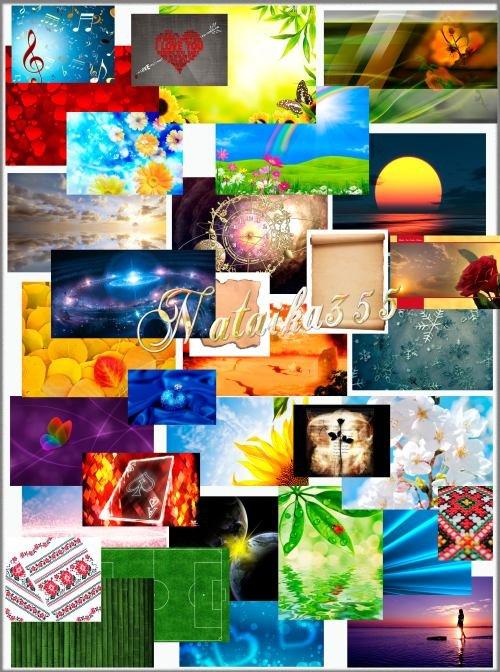 Сборка разнообразных фонов - Пусть никогда не кончится мгновенье