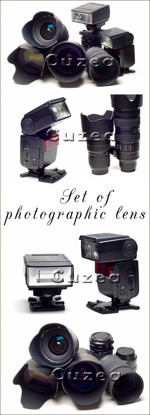 Набор фотографа - Stock photo