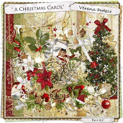 Рождественский скрап-набор - Рождественская колядка
