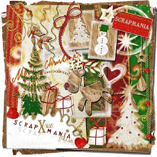Рождественский скрап-набор - Рождественские увлечения