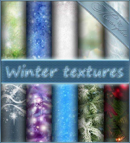Зимние текстуры для вашего творчества