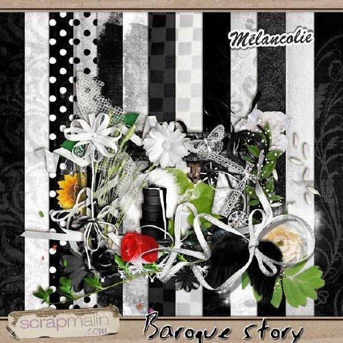 Романтический скрап-набор - Времена барроко