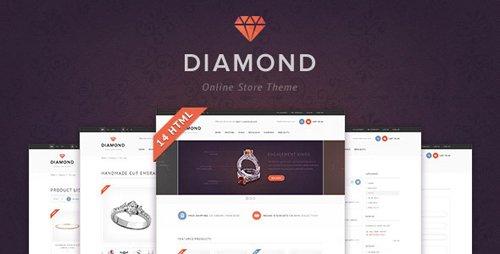 ThemeForest - Diamond - HTML5 & CSS3 store template