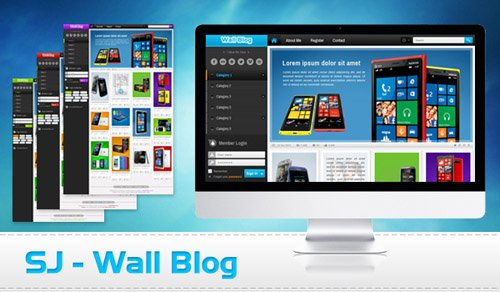 SmartAddons - SJ Wall Blog - Template for Joomla 2.5