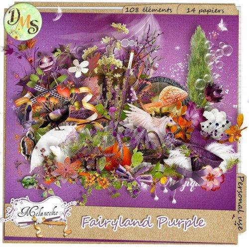 Сказочный скрап-набор - Пурпурная сказочная страна