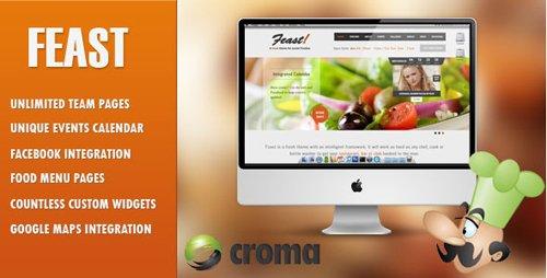 ThemeForest - Feast v1.3.1 - Facebook Fanpage & WordPress theme